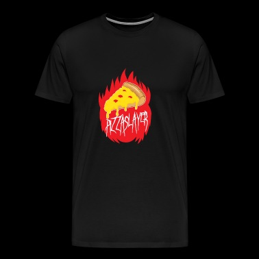 Pizza Slayer - Men's Premium T-Shirt