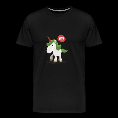 Angry unicorn gift - Men's Premium T-Shirt