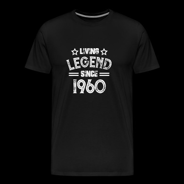 Living Legend sinds 1960 60s Gift - Mannen Premium T-shirt