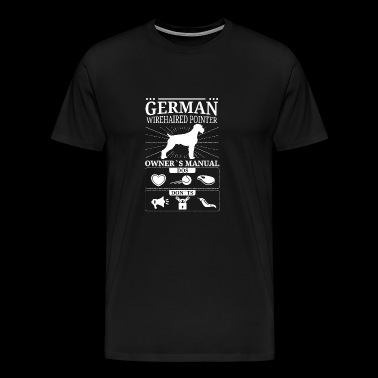 German Wirehaired Pointer Owner Gift - Men's Premium T-Shirt