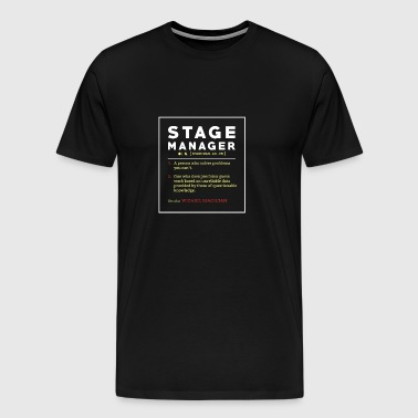 Stage Manager Tee Shirt Poison - Men's Premium T-Shirt