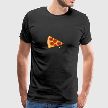 Pac Pizza Missing Piece - Männer Premium T-Shirt