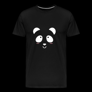Panda is hiding - Men's Premium T-Shirt