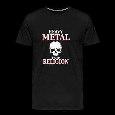 Heavy Metal - C'est ma religion - nation headbang - T-shirt Premium Homme