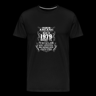 1979 39 premium årgang bursdag gave NO - Men's Premium T-Shirt
