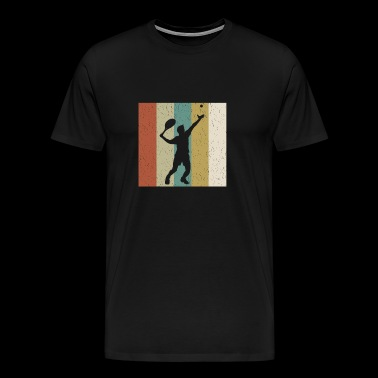 Tennis Tennis Player Tennis Ball Serve Design - Men's Premium T-Shirt