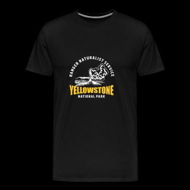 Yellowstone National Park Geyser Old Faithful - Men's Premium T-Shirt