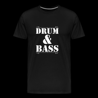 Drum and Bass Shirt - T-shirt Premium Homme