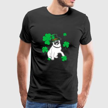 Pug dog St Patricks Day gift - Men's Premium T-Shirt