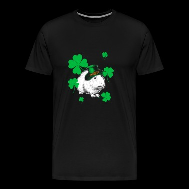 Guinea Pig St Patricks Day Gift - Men's Premium T-Shirt
