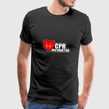 instructeur cpr - T-shirt Premium Homme