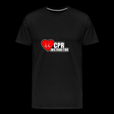 CPR instructeur - Mannen Premium T-shirt