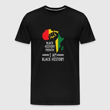 History of black black history - Men's Premium T-Shirt