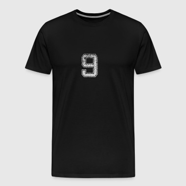 Number 9 Number Nine Gift - Men's Premium T-Shirt