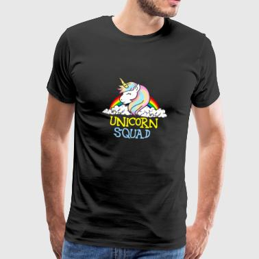 Unicorn Squad - Unicorn Team Team Teamwork - Mannen Premium T-shirt