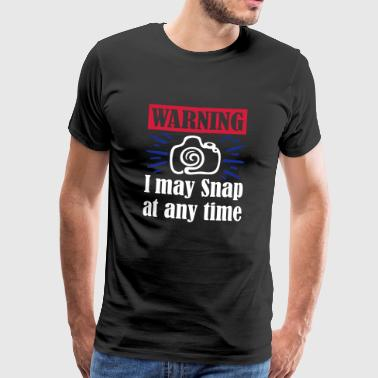 I My Snap At Any Time - Men's Premium T-Shirt