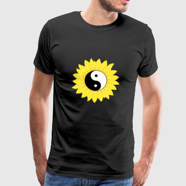 Yin Yang Solros Cool Light & Dark Balance - Premium-T-shirt herr