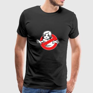 T-Shirt di Gothbusters - Funny Ghost Goth Kid Movie - Maglietta Premium da uomo