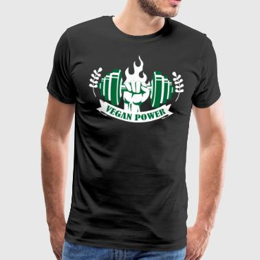 Vegan Power VGN - Men's Premium T-Shirt