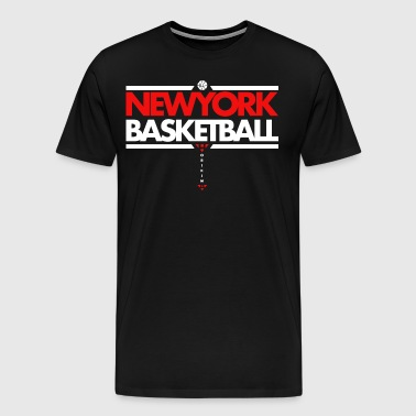 Horikima NY Basketball T-shirt - Herre premium T-shirt