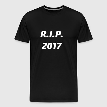 Rest in Peace 2017 - Mannen Premium T-shirt