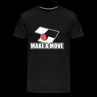 Make a move Figurine Bauer Chess Checkmate - Men's Premium T-Shirt