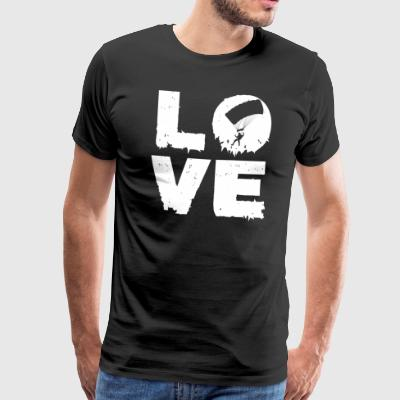 Love skydiving skydiving gift - Men's Premium T-Shirt
