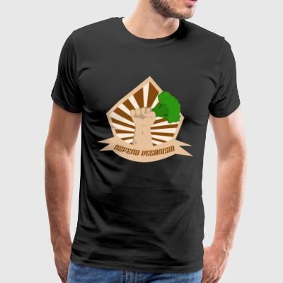 Defend Veganism - Men's Premium T-Shirt
