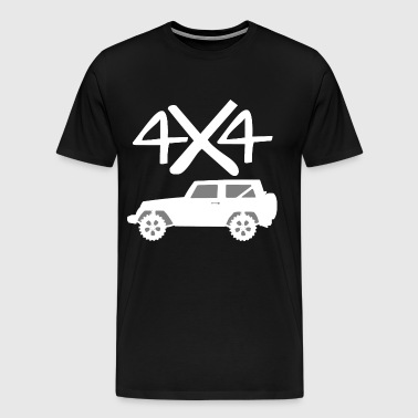 4x4 off-road vehicle gift idea - Men's Premium T-Shirt