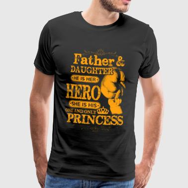 Cool Father Daughter T-Shirt English - Men's Premium T-Shirt