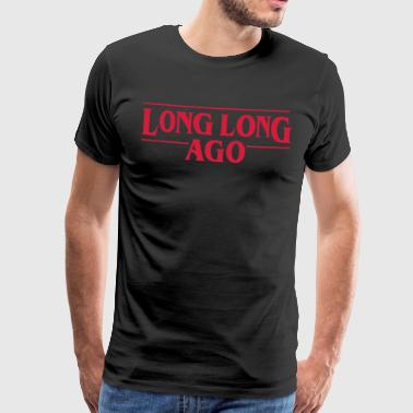 LONG LONG SEDAN Vector - Premium-T-shirt herr