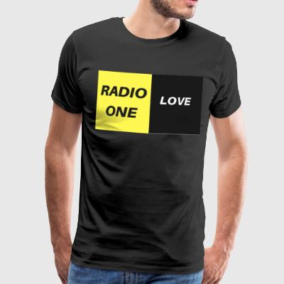 RADIO ONE LOVE - Männer Premium T-Shirt
