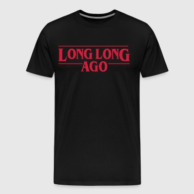 LONG LONG AGO Vector - Men's Premium T-Shirt
