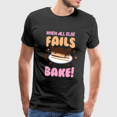 If all else fails cheek! - Men's Premium T-Shirt