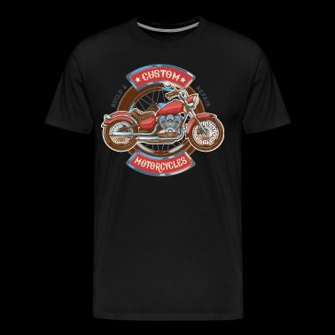 Custom Motorcycles - Men's Premium T-Shirt