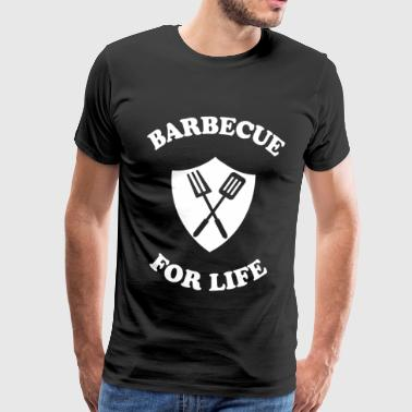 Grill for livet - Herre premium T-shirt