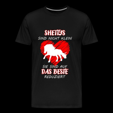 Shettys are not small - Men's Premium T-Shirt
