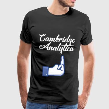 Cambridge Analytica - Herre premium T-shirt