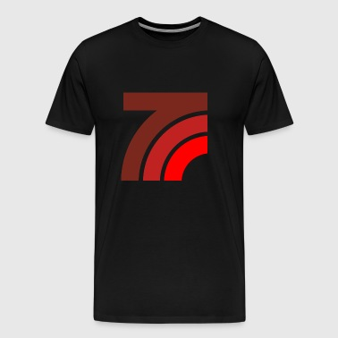 Graphic curves - Men's Premium T-Shirt
