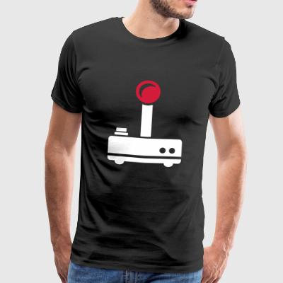 Joystick - gift for gamers and nerds - Men's Premium T-Shirt