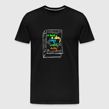 One Book per day - Men's Premium T-Shirt