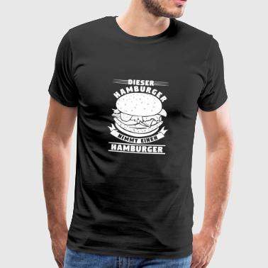 Hamburger Hamburg Restaurant favorite food - Men's Premium T-Shirt