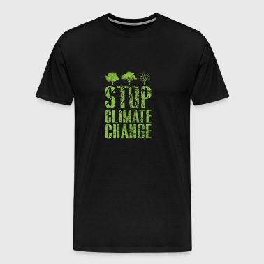 Climate change saying gift CO2 climate global warming - Men's Premium T-Shirt