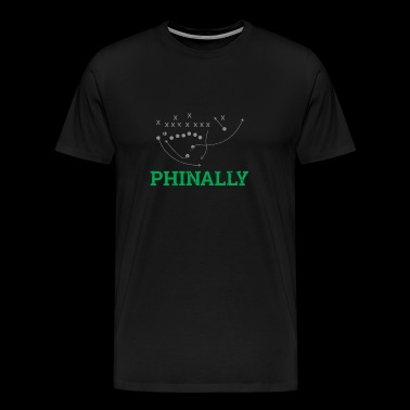 Philly Special American Football - Premium T-skjorte for menn