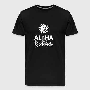 Beach - Holidays - Holidays - Summer - Aloha - Men's Premium T-Shirt