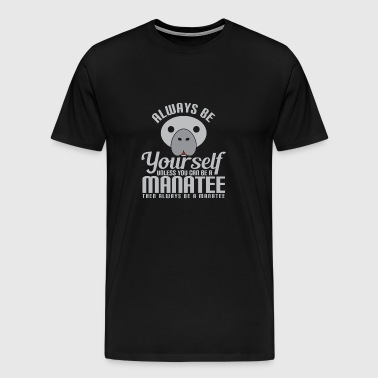 Animal, Pet Lover, Manatee lover - Men's Premium T-Shirt