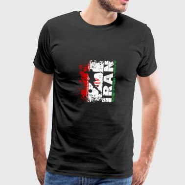 Iran National Football Team - Gift - Mannen Premium T-shirt