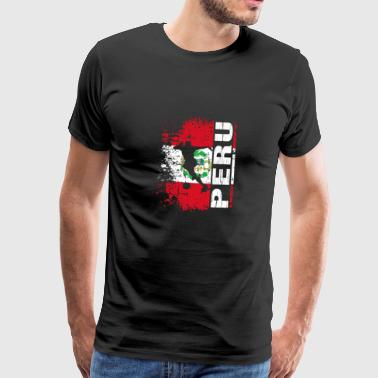 Peru National Football Team - Gift - Mannen Premium T-shirt