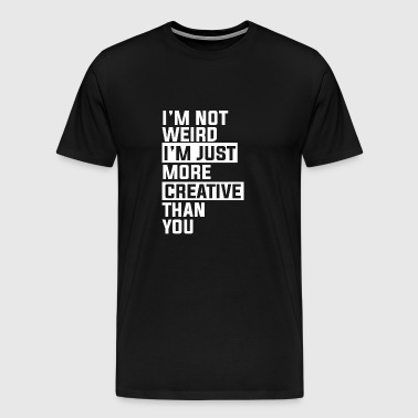 Gift for creative musicians and artists - Men's Premium T-Shirt
