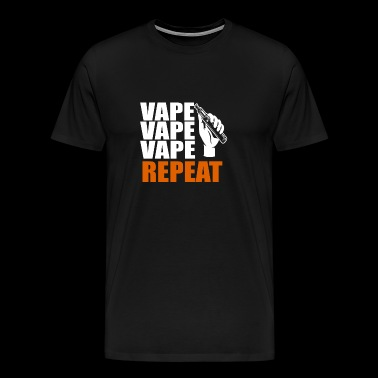 E-Shisha Electric Cigarette Your Steamer Shirt Vape - Men's Premium T-Shirt